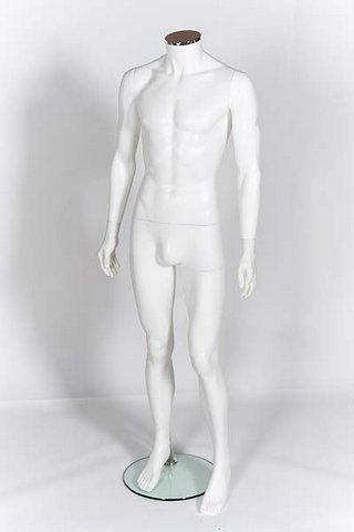 Male mannequin no head